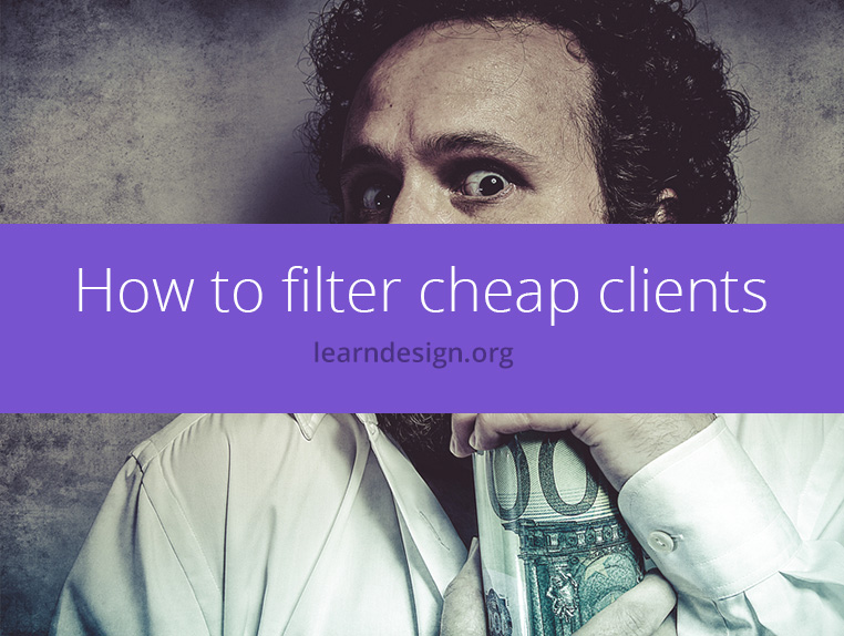 how to filter cheap clients