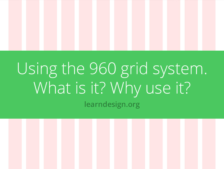 using the 960 grid system