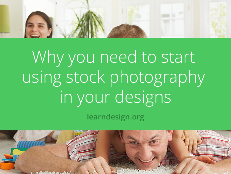 why you need to start using stock photography in your designs